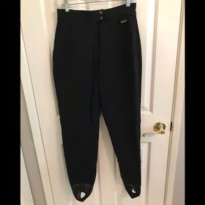 Other - Edelweiss black ski pants size 14
